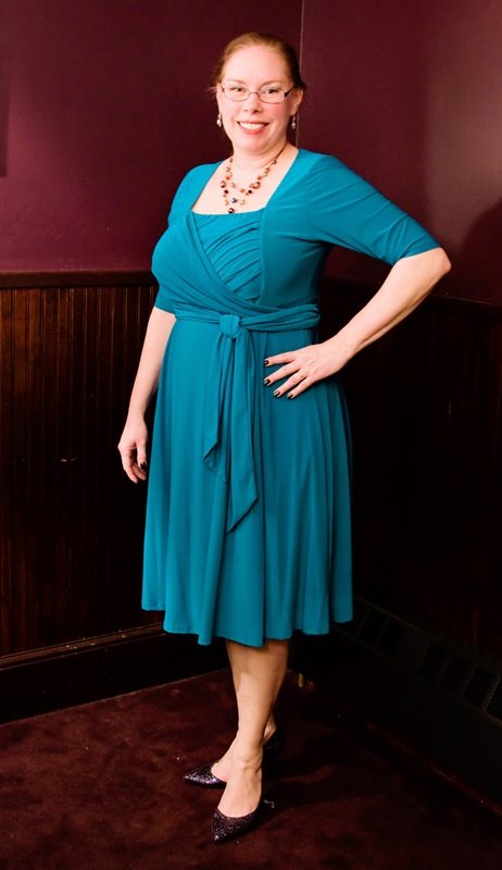 Igigi Tiffany Dress in Jade