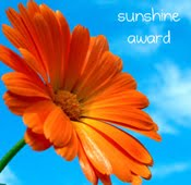 Sunshine Award Badge