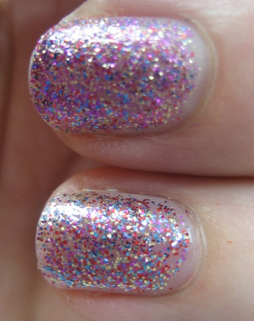 Glitter polish